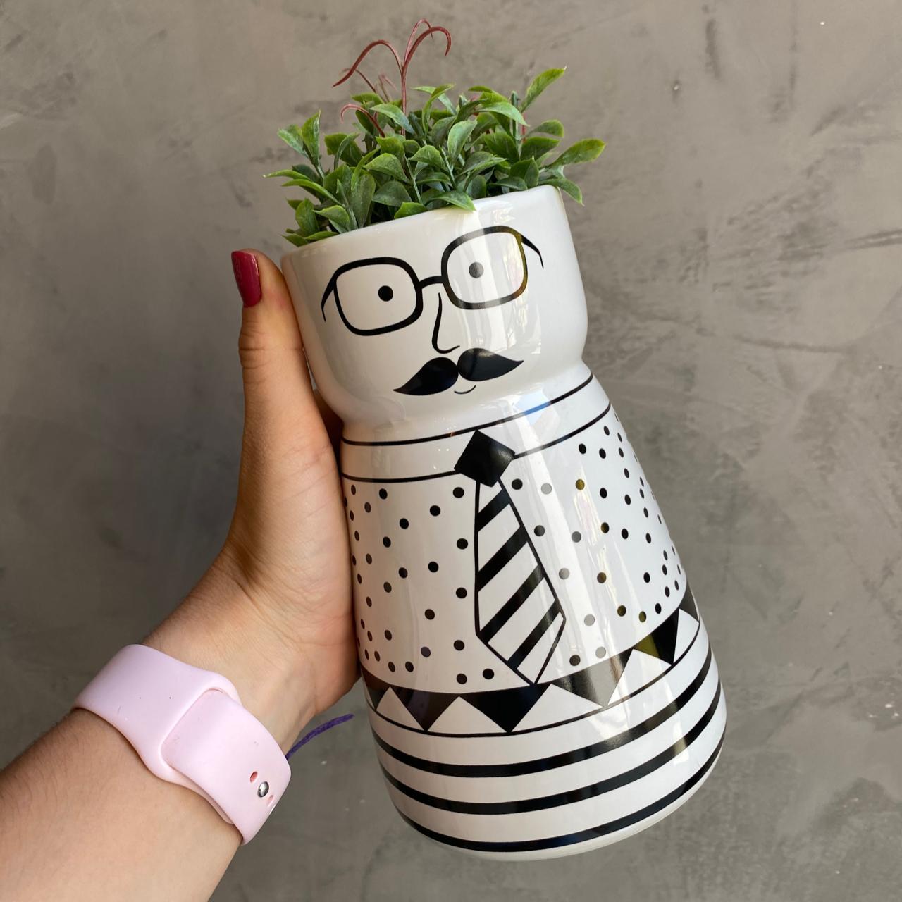 vaso mustache