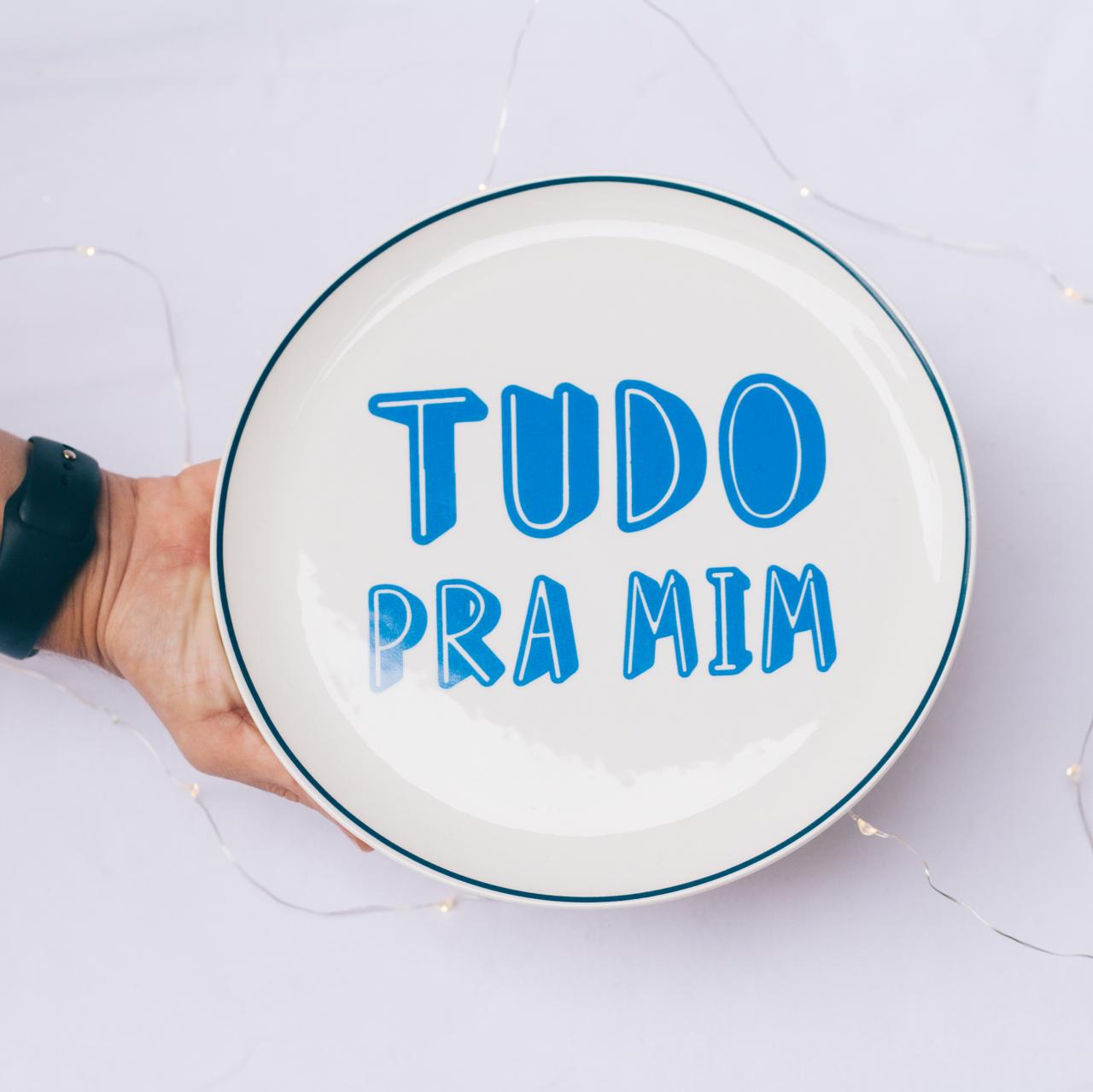 PRATO LANCHE TUDO PRA MIM