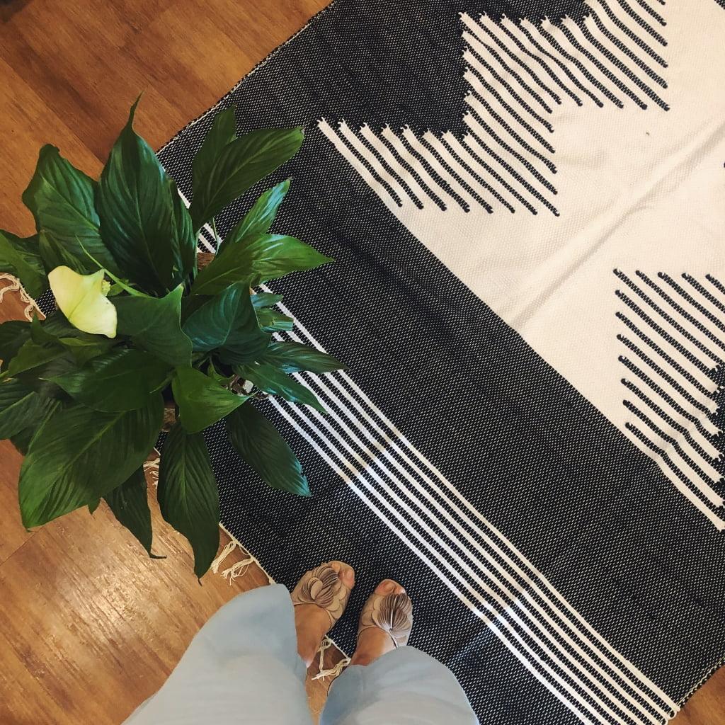 tapetão preto e branco